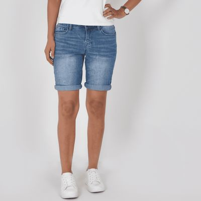 Foto van Buena Vista dames jeans korte broek Paulina