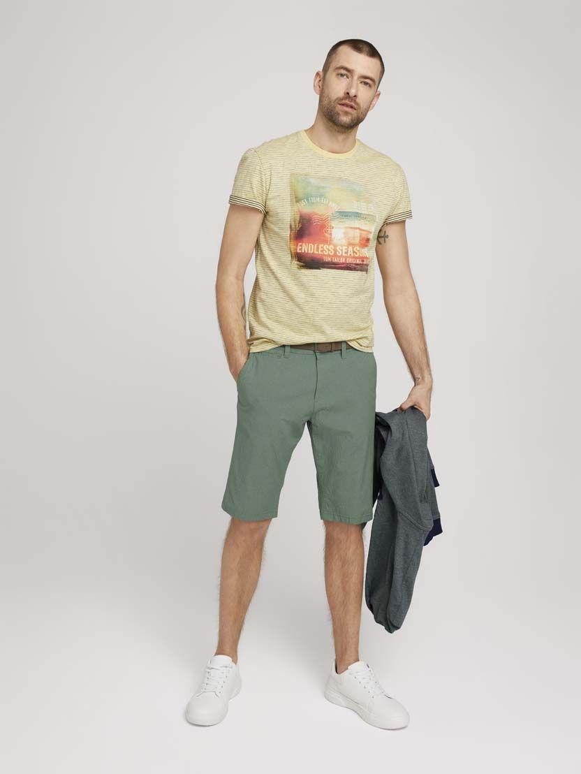 TomTailor heren Josh Chino korte broek