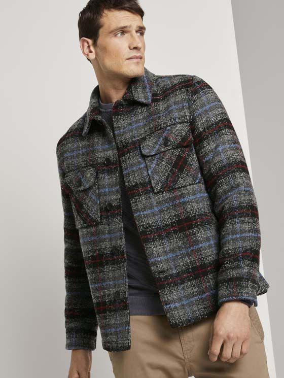TomTailor gewatteerde Shirt-Jas