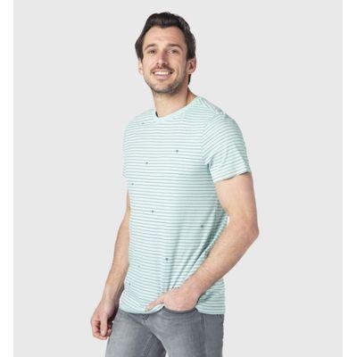 Brunotti heren T-shirt Tim Stripe