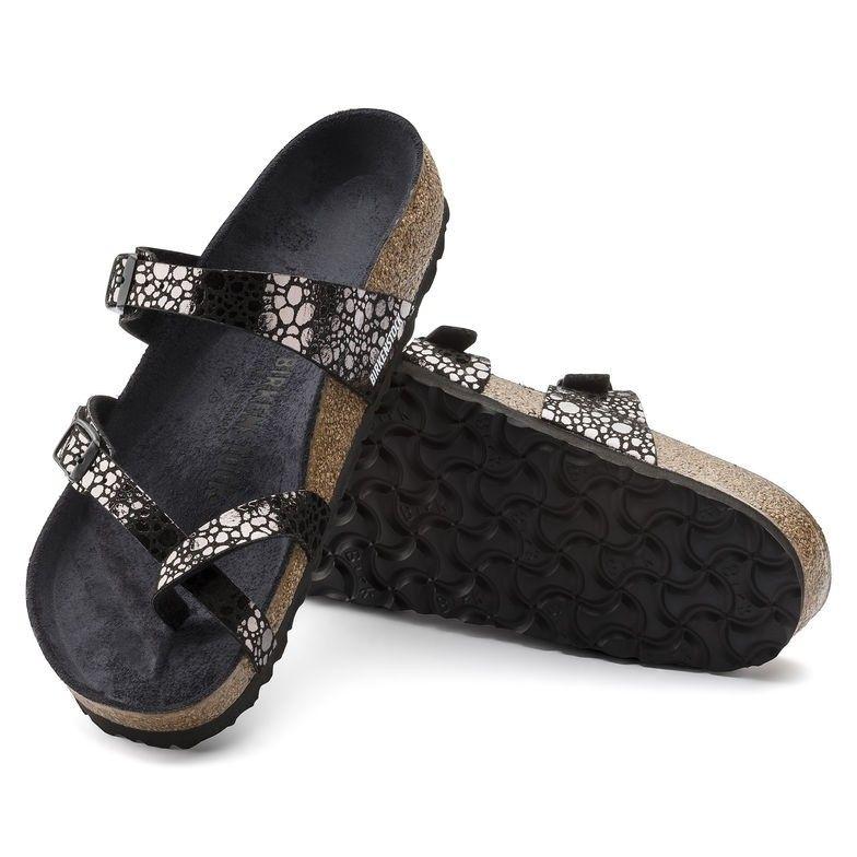Birkenstock dames sandaal Mayari Metallic