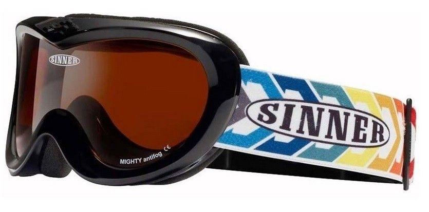 Sinner kinder goggle Mighty matt black.