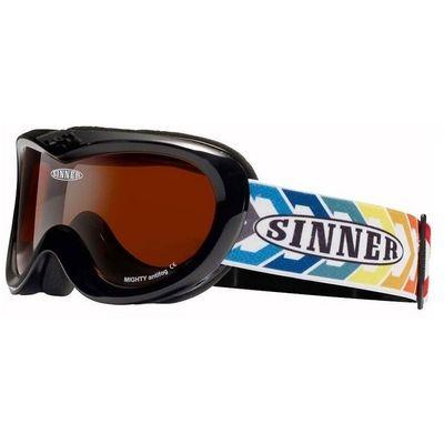 Foto van Sinner kinder goggle Mighty matt black.
