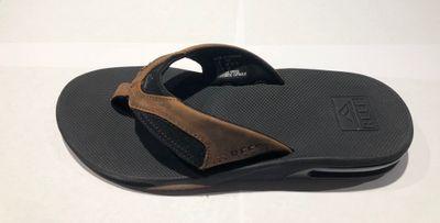 Foto van Reef heren slipper Leather Fanning