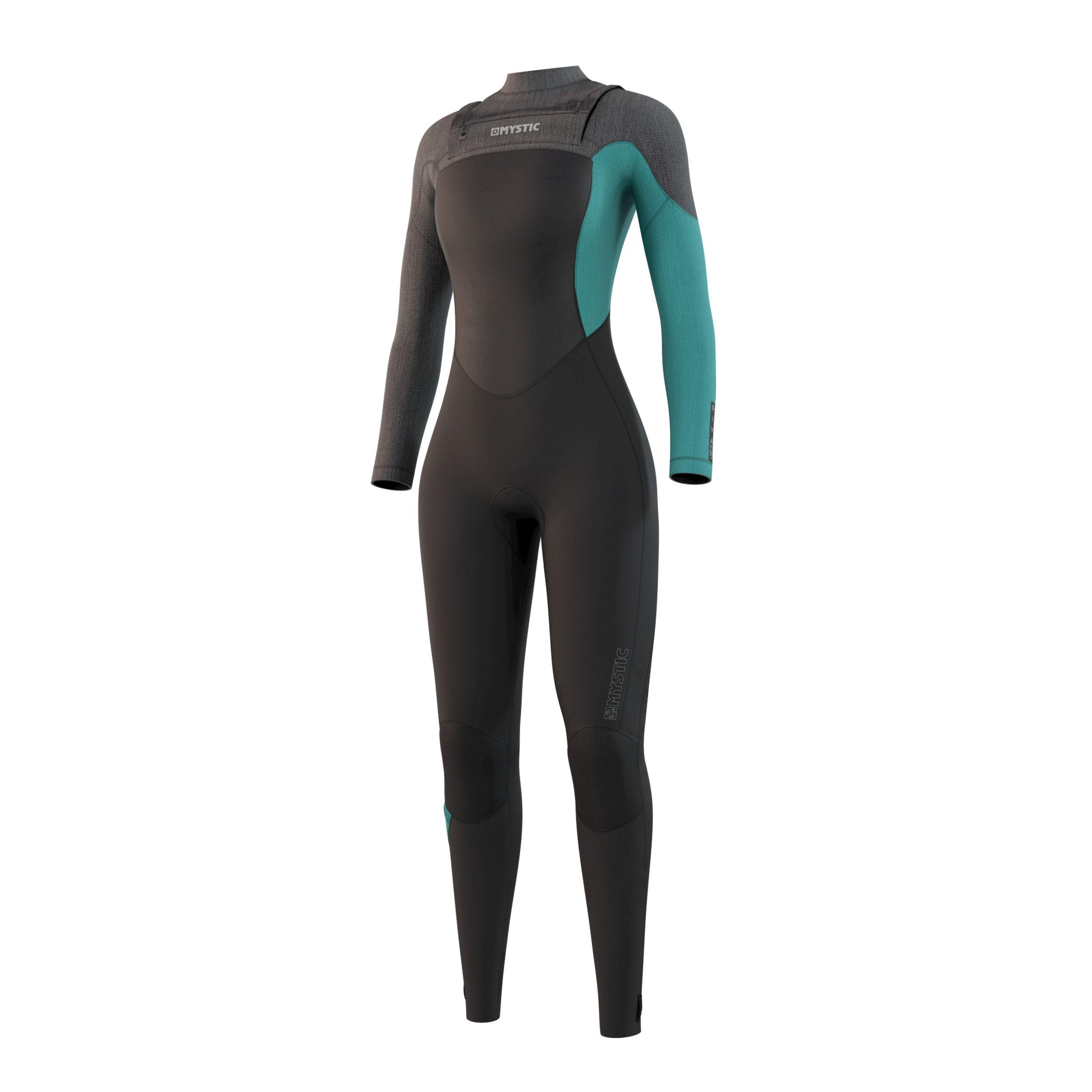 Mystic dames Diva wetsuit 5/3 Front zip 2021