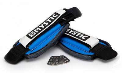 Foto van Mystic Kiteboard voetbanden blauw.