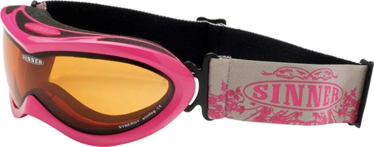 ​Sinner kinder goggle Mighty shinny pink.