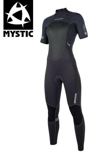 Foto van Mystic dames wetsuit Brand Short Arm 3/2