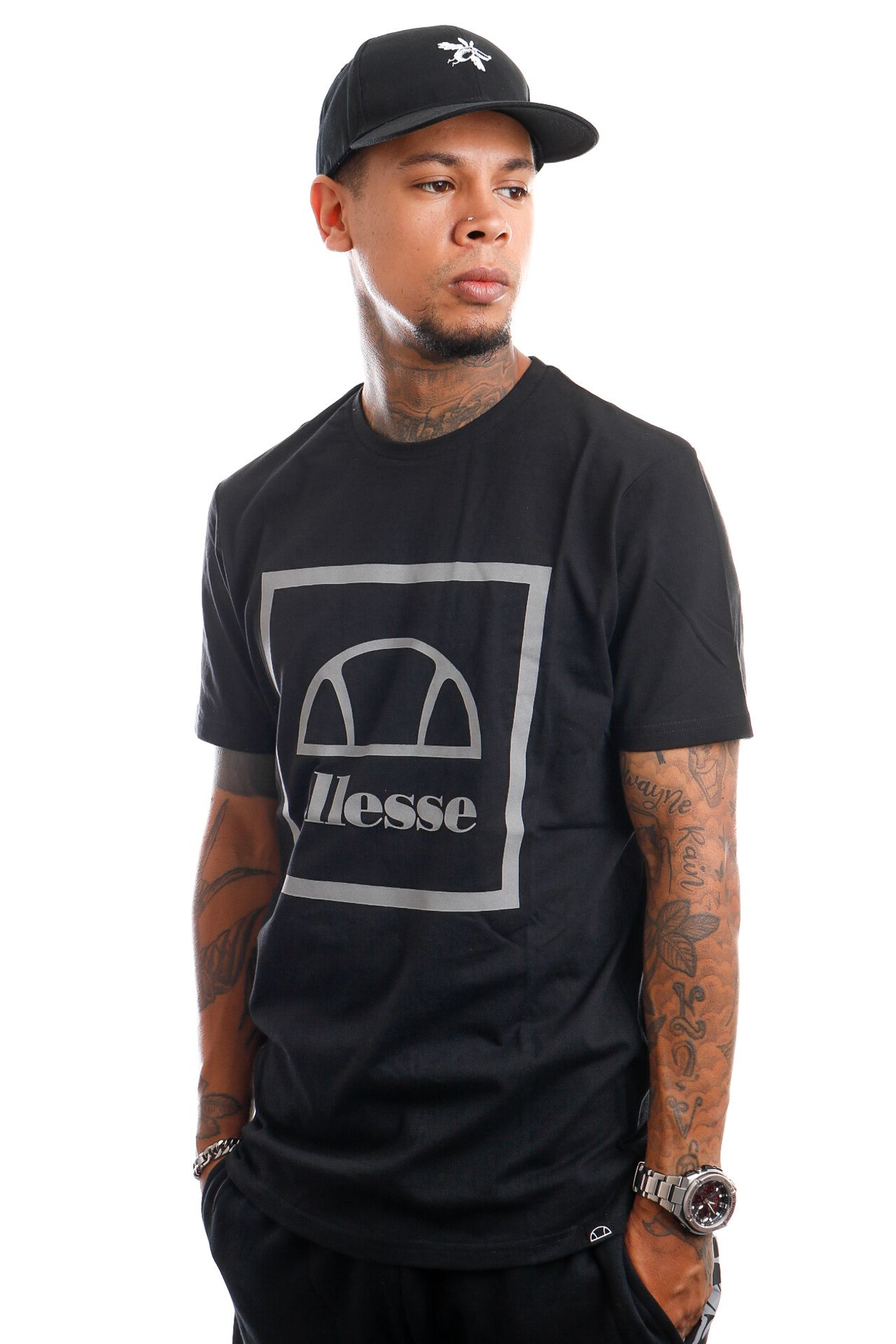 Afbeelding van Ellesse T-Shirt Andromedan Black SHK12786