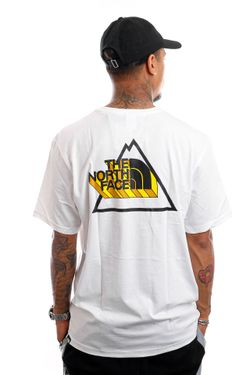 Afbeelding van The North Face NF0A5ID6FN41 T-Shirt Mens Threeyama S/S TNF White