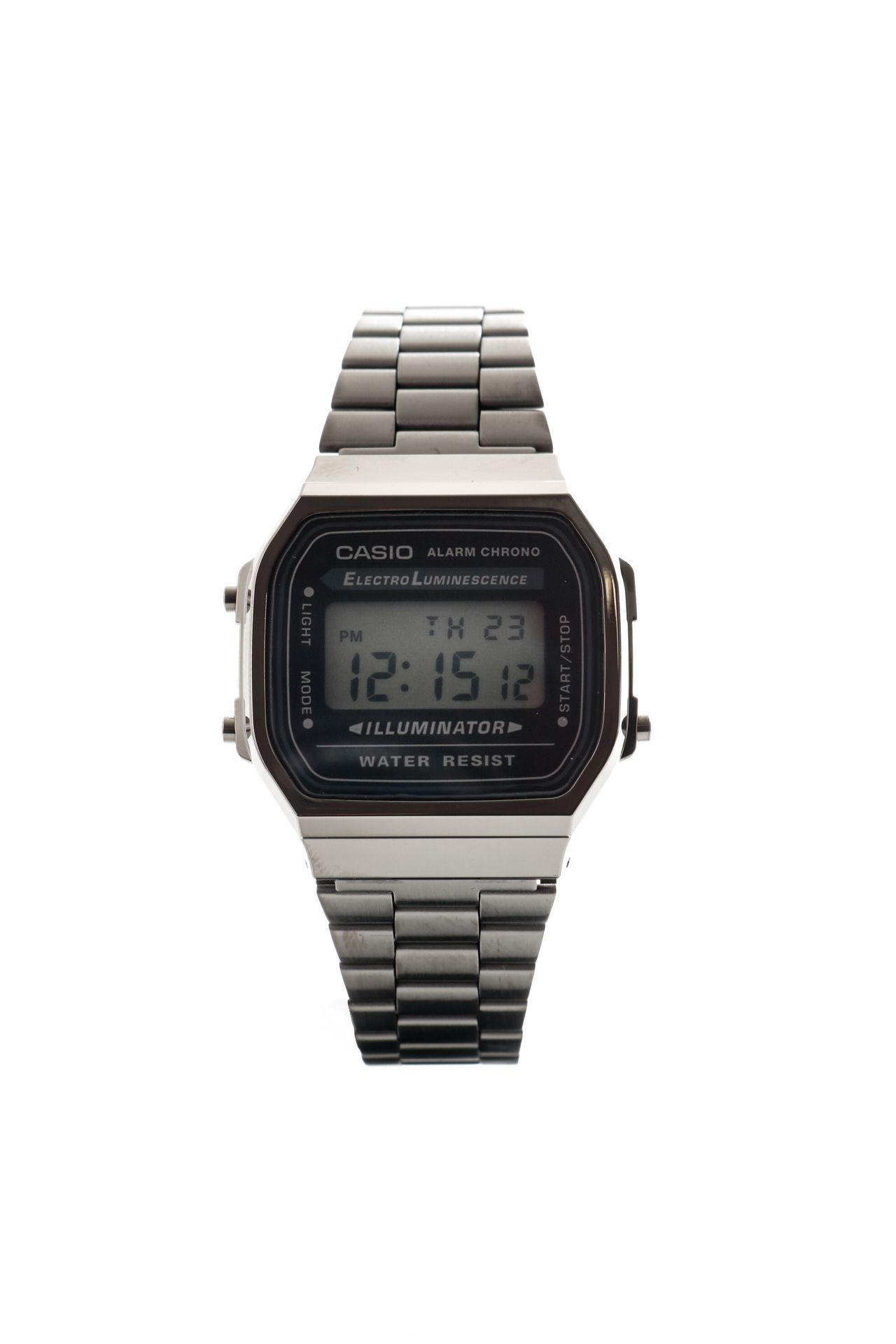 Afbeelding van Casio Horloge A168WEGG Gun Metal