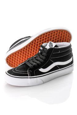 Afbeelding van Vans Sneakers Sk8-Mid reissue Black/White VN0A391F6BT1