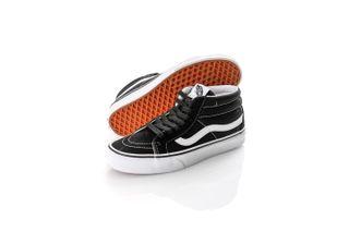 Foto van Vans Sneakers Sk8-Mid reissue Black/White VN0A391F6BT1