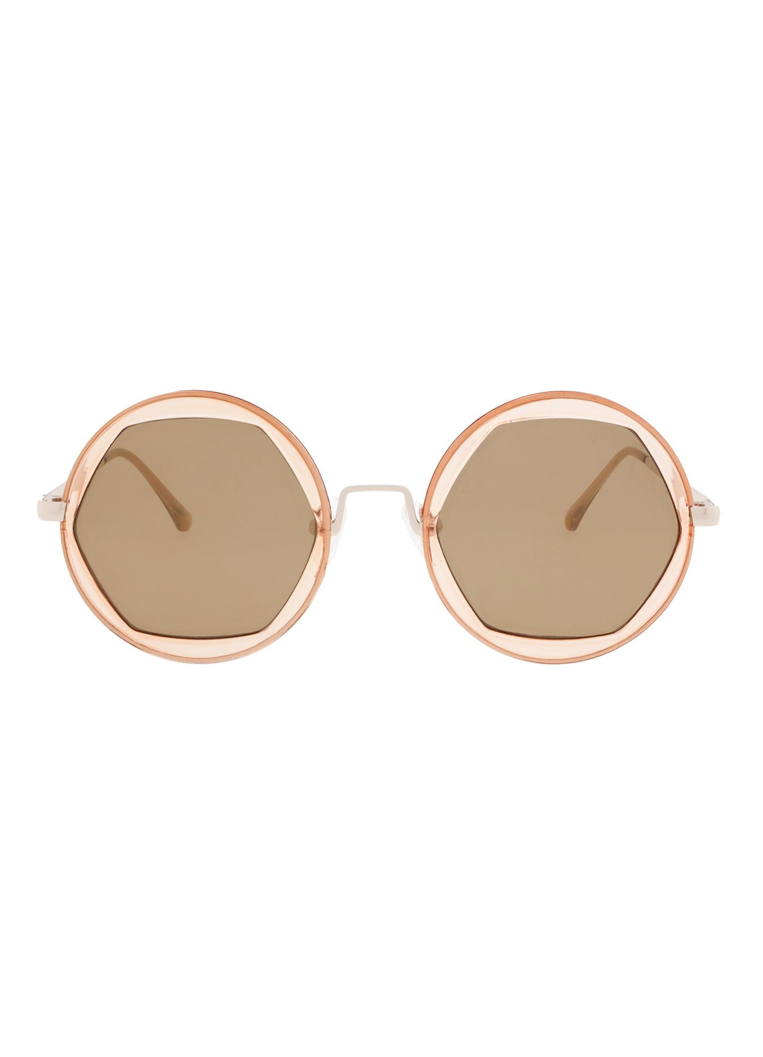 Afbeelding van Icon Eyewear Zonnebril Zari Clear Peach (As C2) 17M7032