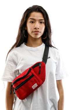 Afbeelding van Go-Britain Compartment Gbb01 Fanny Pack (Heuptas) Red