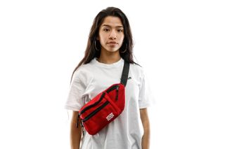 Foto van Go-Britain Compartment Gbb01 Fanny Pack (Heuptas) Red