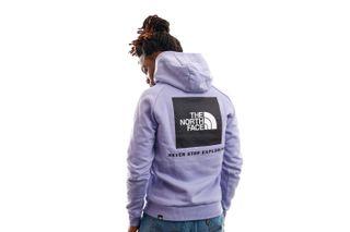 Foto van The North Face Hooded Men's Raglan Redbox Hooded Sweet Lavendel NF0A2ZWUW231