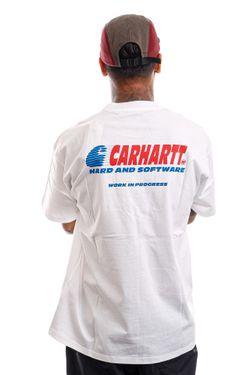 Afbeelding van Carhartt T-shirt S/S Software White I029619