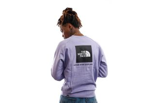 Foto van The North Face Crewneck Men's Raglan Redbox Crew - New Sweet Lavendel NF0A4SZ9W231