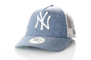 Foto van New Era 11065843 Chambray Trucker New Era W York Yankees Team/White
