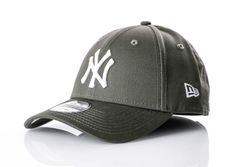 Afbeelding van New Era Dad Cap New York Yankees League essential 940 80636010 New Olive