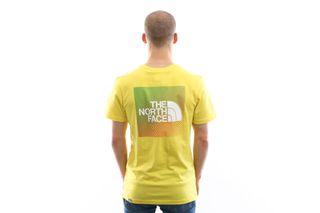 Foto van The North Face T-shirt Men'S Ss Rnbw Tnf Lemon/Tnf White NF0A4M6PP76