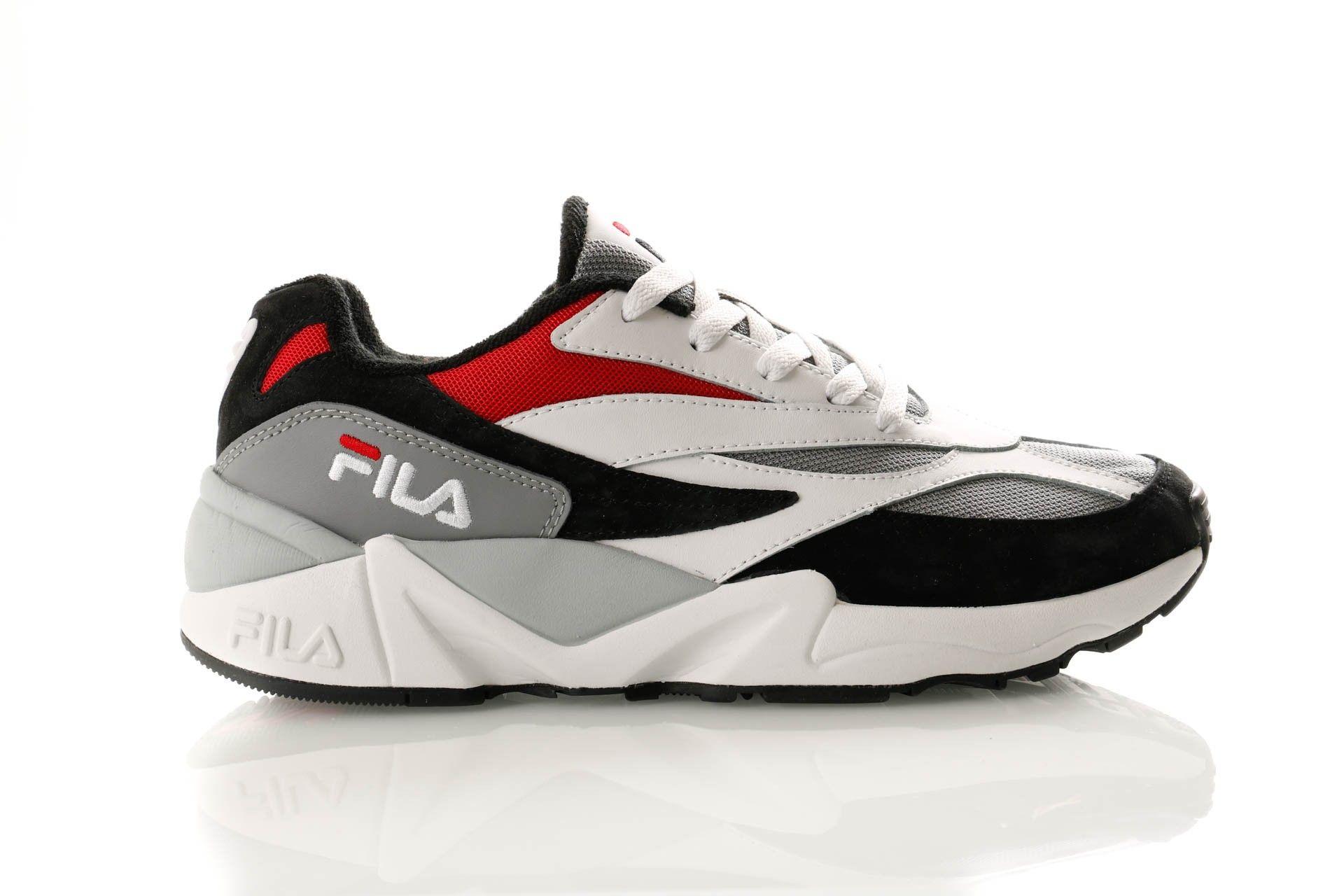 Afbeelding van Fila V94M Low 1010718 Sneakers Black / White / Fila Red