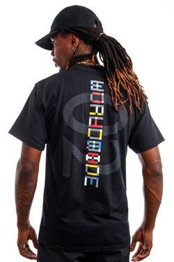 Afbeelding van HUF T-Shirt HUF CONFUSION Black TS01422