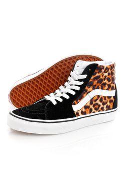 Afbeelding van Vans Sneakers UA SK8-Hi (Leopard) Black/True White VN0A4U3C3I61