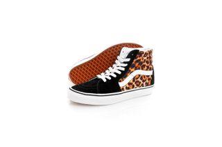 Foto van Vans Sneakers UA SK8-Hi (Leopard) Black/True White VN0A4U3C3I61