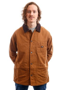 Afbeelding van Dickies Jacket Baltimore Jacket Brown Duck DK720346BD01