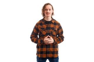 Foto van Dickies Overhemd Sacramento Shirt Brown Duck DK0A4X8NBD01