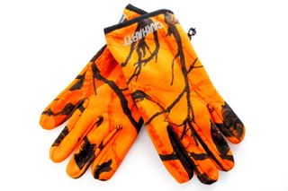 Foto van Carhartt Wip Beaufort Gloves I026838 Handschoenen Camo Tree, Orange / Reflective