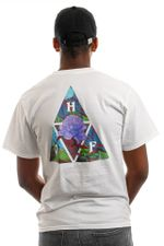 HUF T-Shirt HUF NEW DAWN TT S/S White TS01516