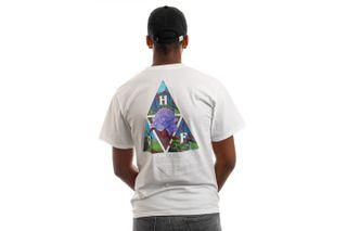 Foto van HUF T-Shirt HUF NEW DAWN TT S/S White TS01516