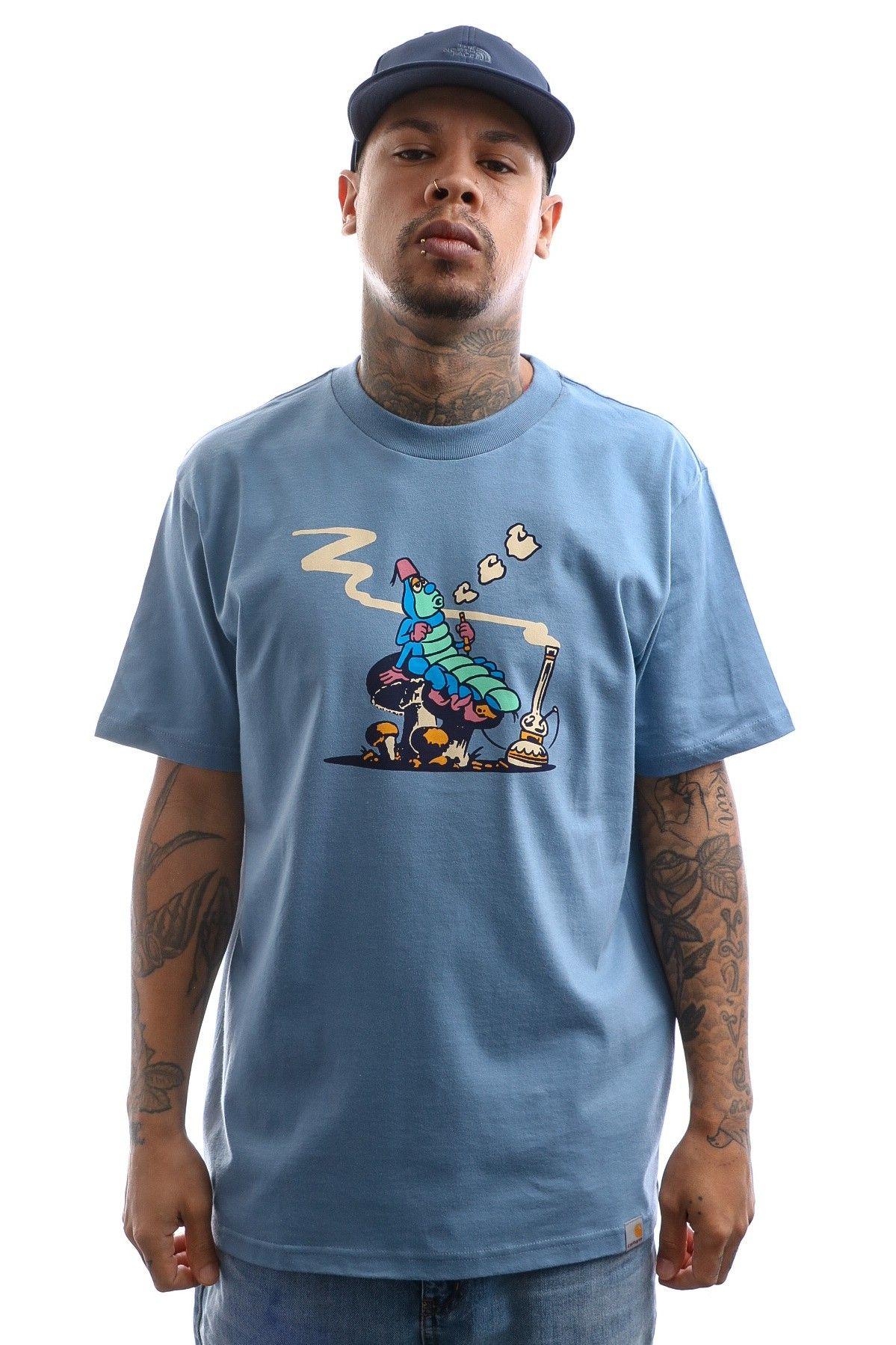 Afbeelding van Carhartt T-shirt S/S Silkworm T-Shirt Mossa I027810