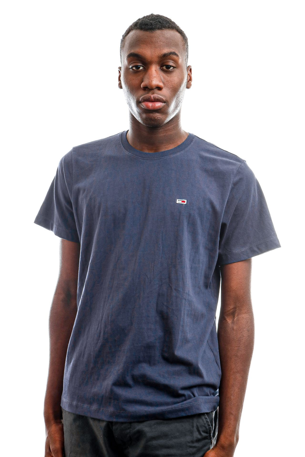 Afbeelding van Tommy Hilfiger T-shirt TJM CLASSIC JERSEY C, C87 Twilight Navy DM0DM09598