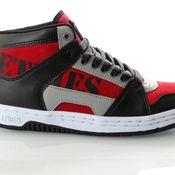 Etnies Mc Rap High 4101000506 Sneakers Black/Red/Grey
