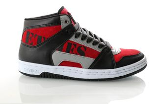 Foto van Etnies Mc Rap High 4101000506 Sneakers Black/Red/Grey