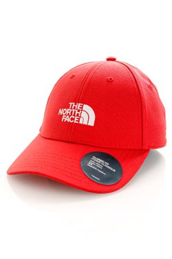 Afbeelding van The North Face Dad Cap Recycled 66 Classic Rococco Red NF0A4VSVV34