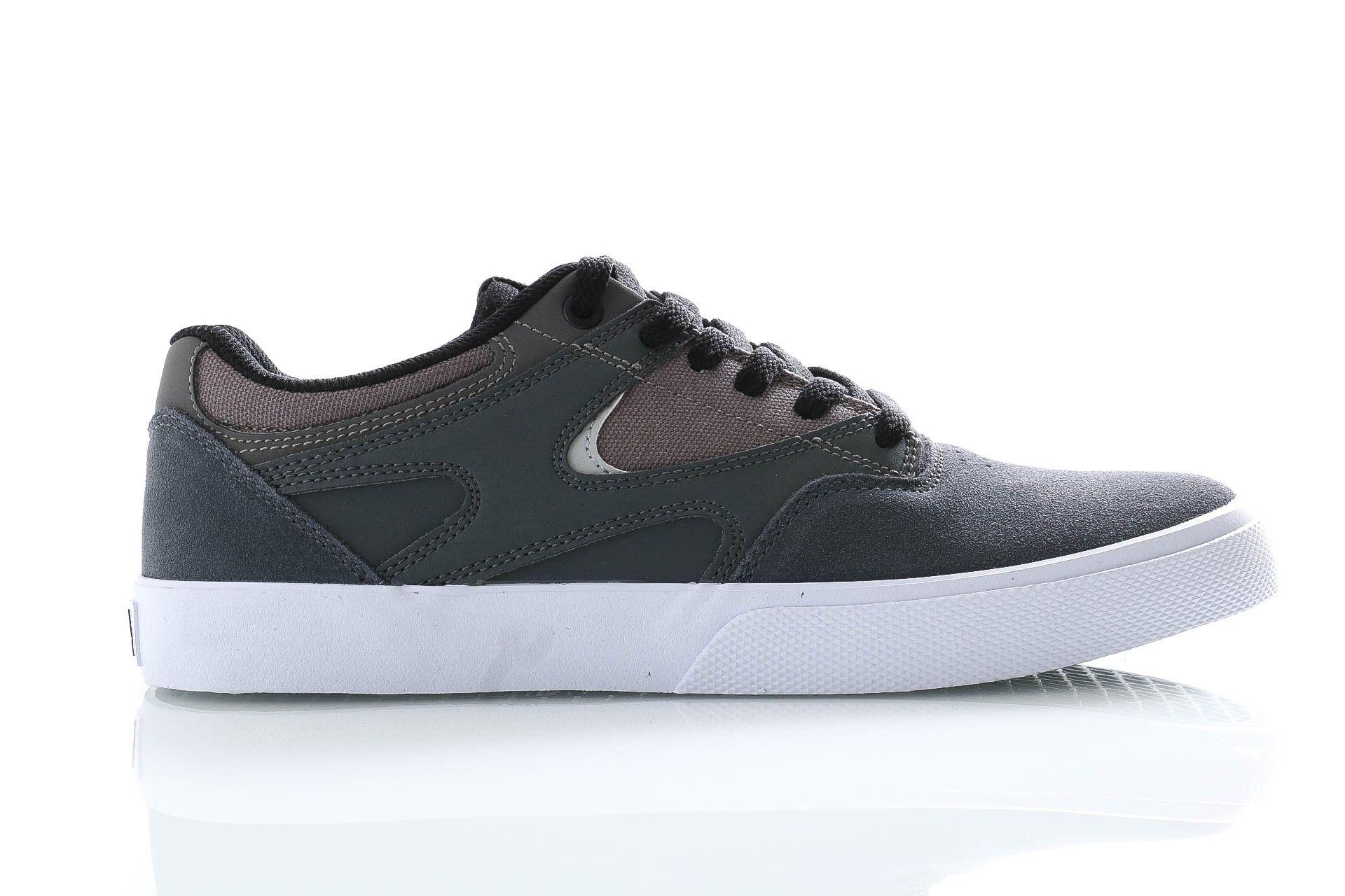 Afbeelding van DC Sneakers Kalis Vulc Grey/Black/White ADYS300569