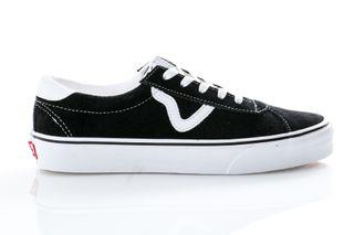 Foto van Vans Sneakers Ua Vans Sport (Suede) Black VN0A4BU6A6O1