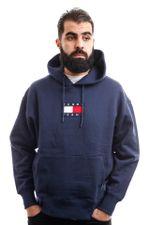 Tommy Hilfiger Hooded Tjm Small Flag Hoodi Twilight Navy DM0DM08726
