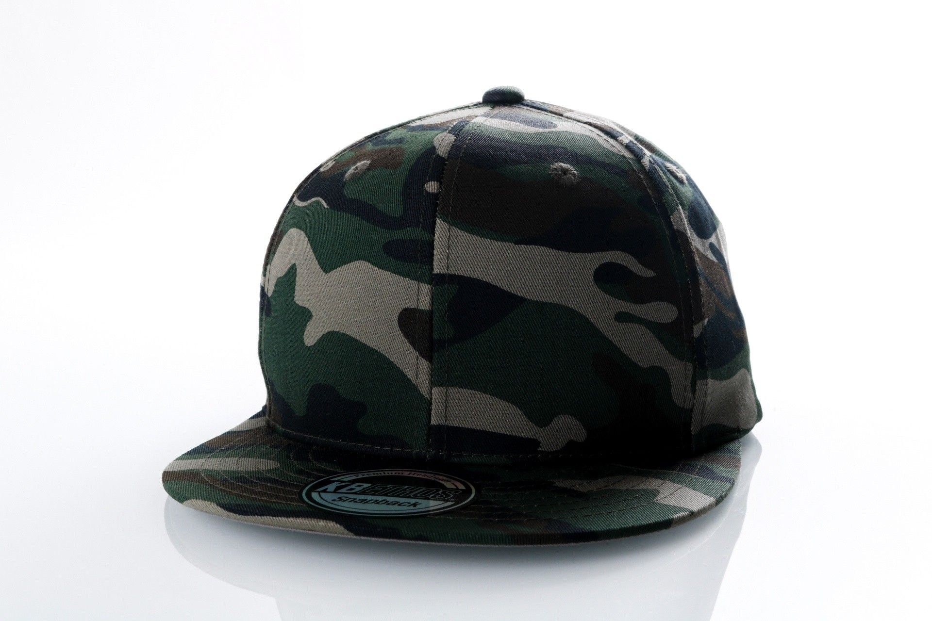 Afbeelding van Ethos Basic Snap Knw-1467 Camo Knw-1467 Dad Cap Camo