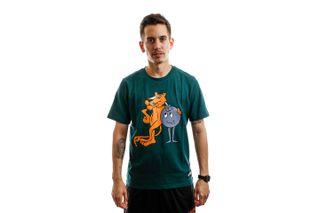 Foto van Puma T-shirt Puma X Th Tee Ponderosa Pine 596750 38