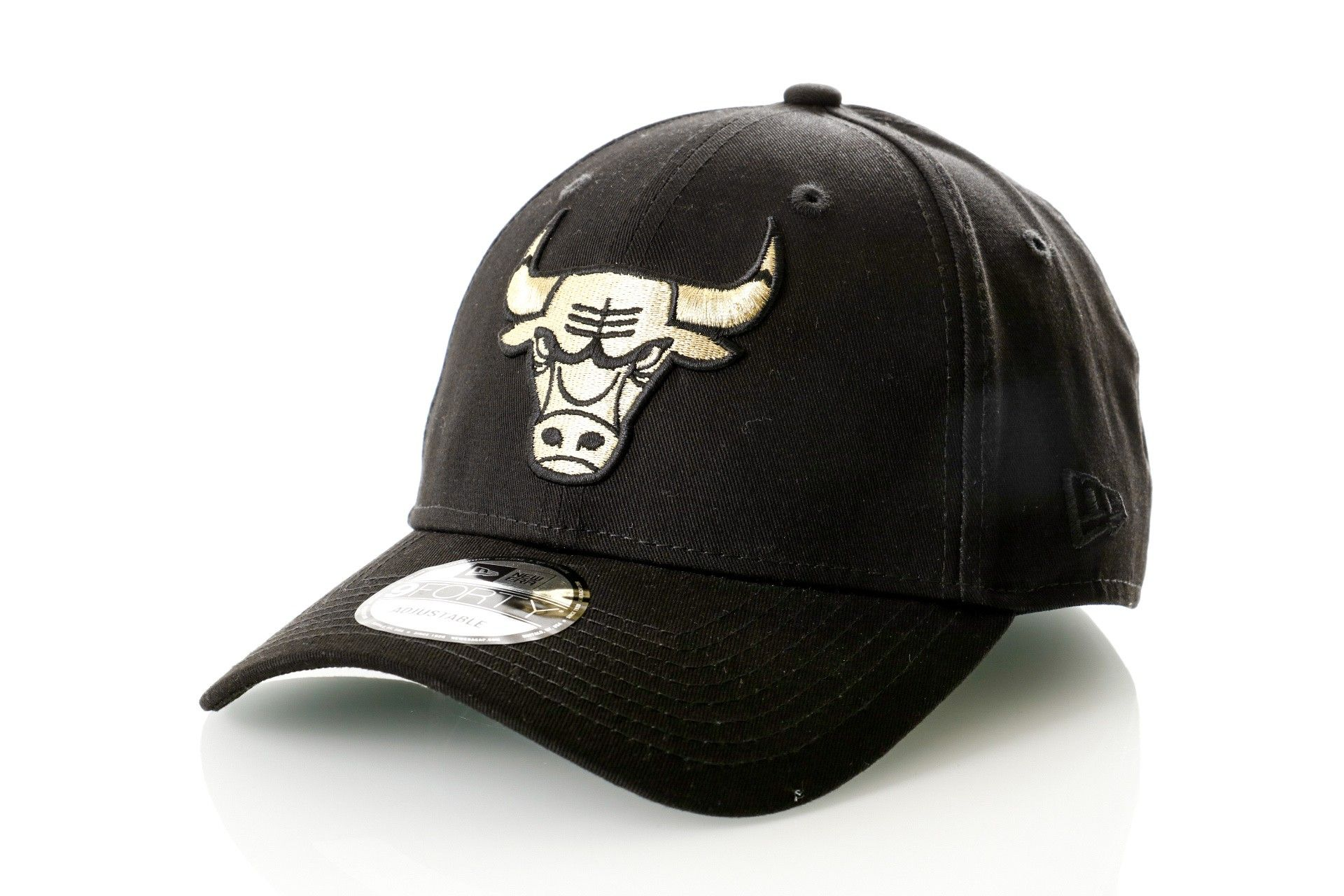 Afbeelding van New Era Dad cap 9Forty Chicago Bulls Black/Gold 11525481
