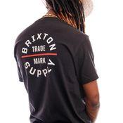 Brixton T-shirt OATH V S/S STT Black/Vanilla 16410