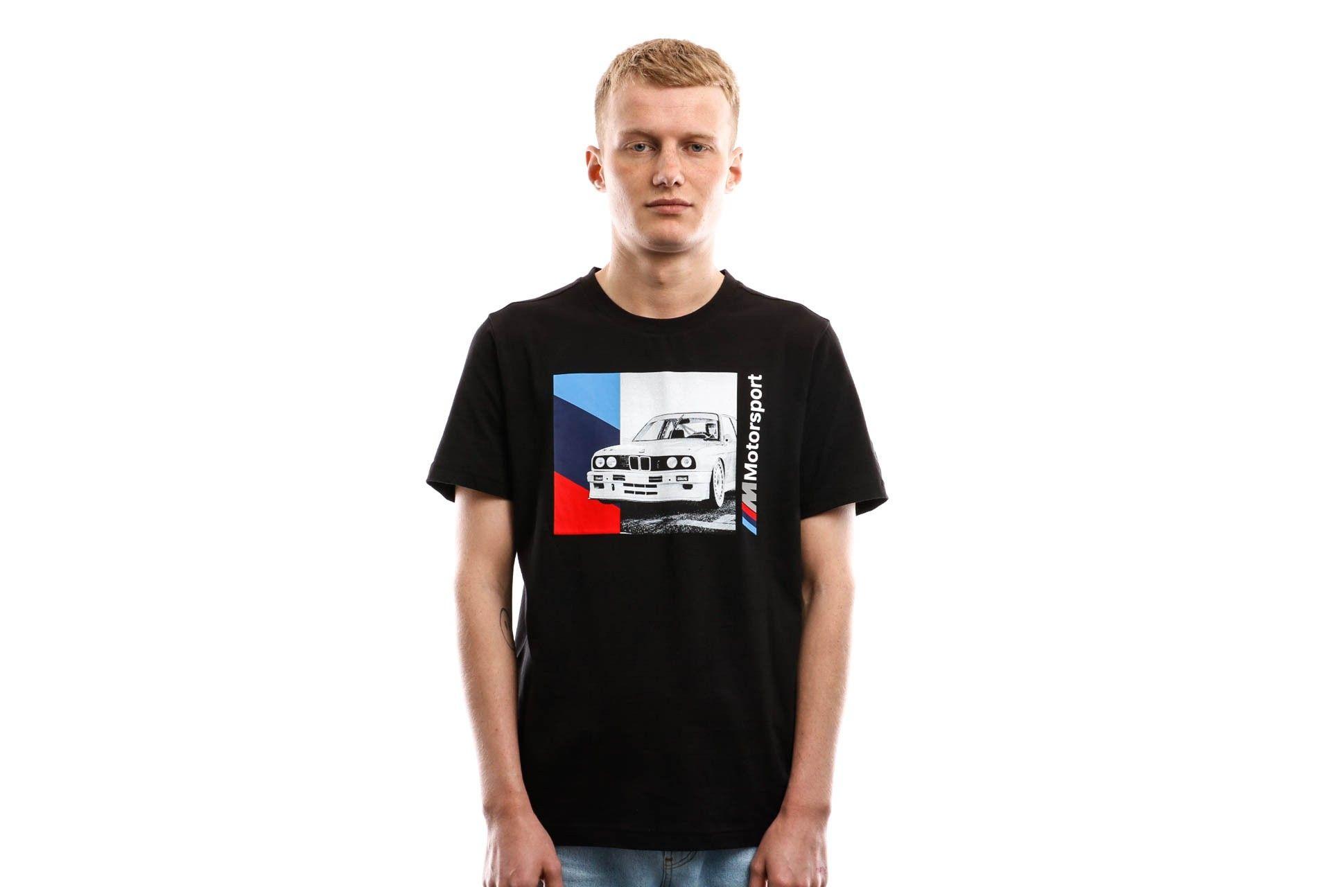 Afbeelding van Puma T-shirt Bmw Mms Graphic Tee 2 Puma Black 596102 01