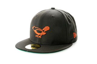 Foto van New Era Fitted Cap Baltimore Orioles Retro Coops 59Fifty Pack 12040258