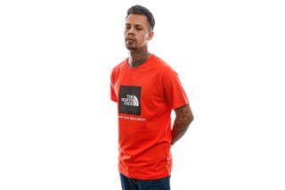 Foto van The North Face T-Shirt Men's S/S Raglan Redbox Tee Flare NF0A3BQOR151